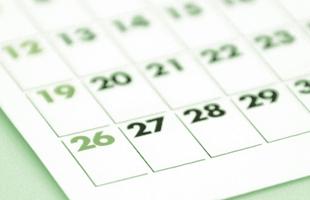 診療カレンダーのイメージ